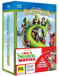 Shrek: The Whole Story Quadrilogy on Blu-ray