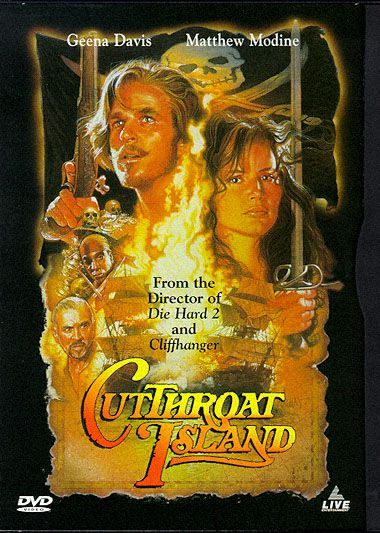 Cutthroat Island on DVD image