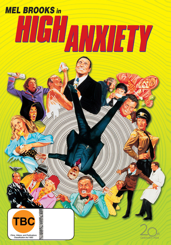 High Anxiety on DVD