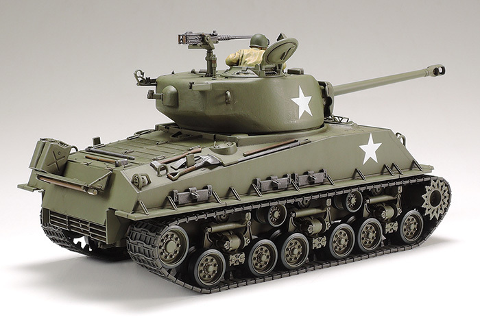 Tamiya 1/35 scale U S  Medium Tank M4A3E8 Sherman