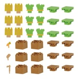 Minecraft: Eraser Farm Set