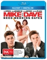 Mike and Dave Need Wedding Dates on Blu-ray