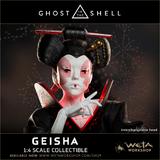 Ghost in the Shell: 1/4 Geisha - Replica Statue
