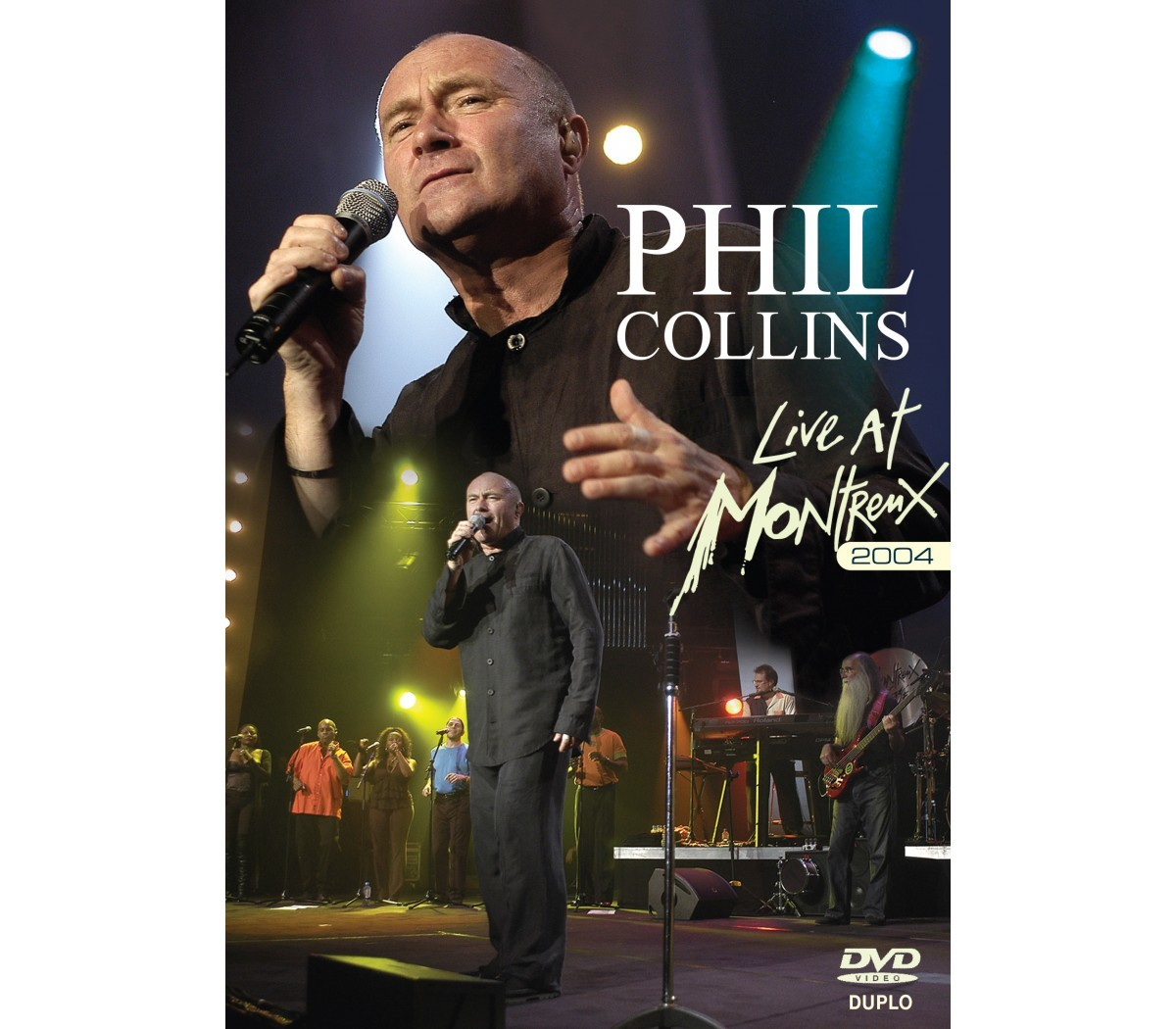 Phil Collins is Live at Montreux 2004 on DVD image