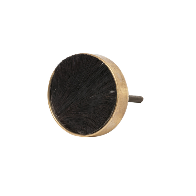 General Eclectic: Hide Knob - Black