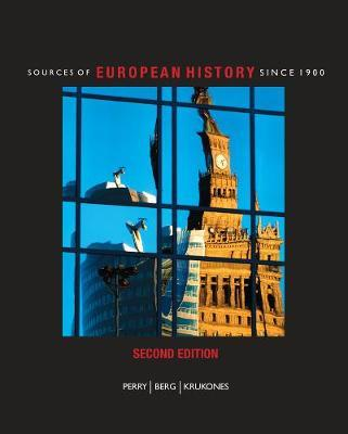 Sources of European History by Marvin Perry image