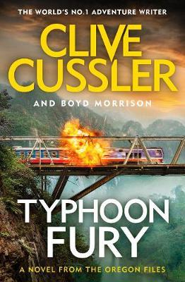 Typhoon Fury by Clive Cussler image