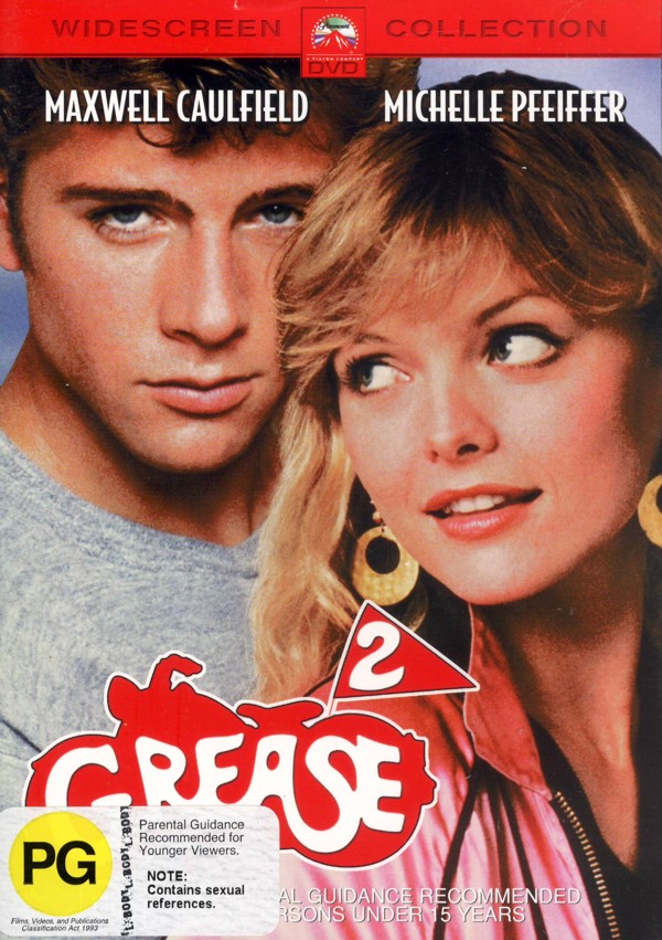 Grease 2 on DVD image