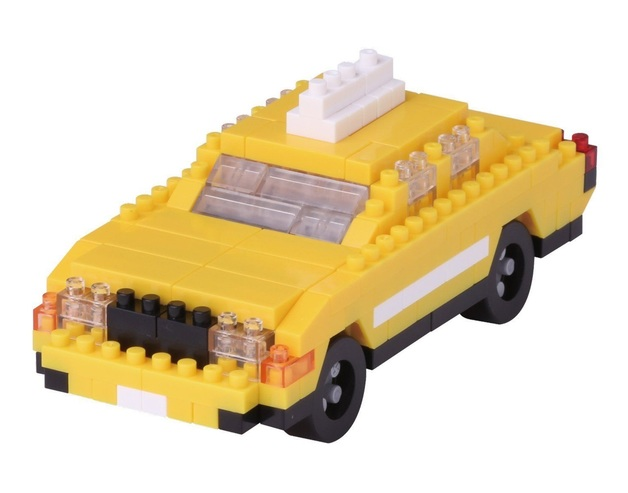 nanoblock: Sites To See - New York Taxi