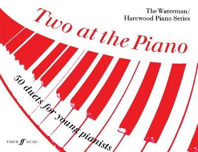 Two at the Piano by Josef Gruber