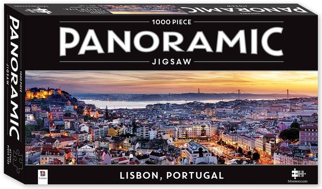 Mindbogglers: Panoramic 1000-Piece Puzzle - Lisbon
