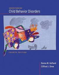 Understanding Child Behavioral Disorders by Donna M. Gelfand image