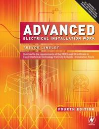 Advanced Electrical Installation Work by Trevor Linsley image