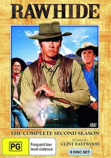 Rawhide - The Complete 2nd Season (8 Disc Set) on DVD