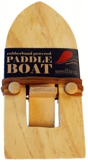 Seedling - Rubberband Powered Paddle Boat