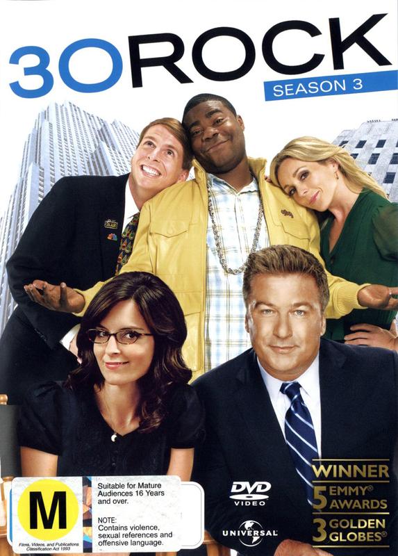 30 Rock - Season 3 on DVD