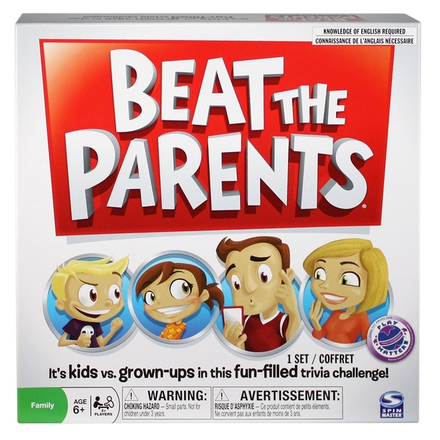 Beat The Parents - Board Game