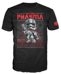 Star Wars - Captain Phasma Poster Pop! T-Shirt (L)