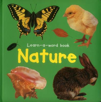 Learn-a-word Book: Nature by Nicola Tuxworth image