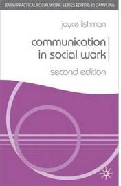 Communication in Social Work by Joyce Lishman