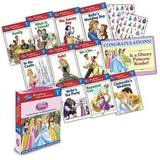Disney Princess: Reading Adventures Level 1 Box Set (10 Books & Stickers, New Readers) by Disney Book Group