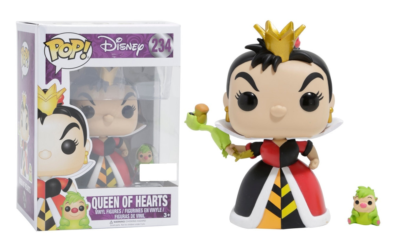 Alice in Wonderland - Queen of Hearts Pop! Vinyl Figure image