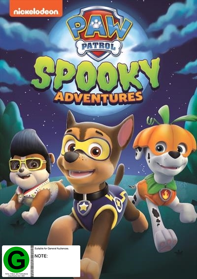 Paw Patrol: Spooky Adventure on DVD