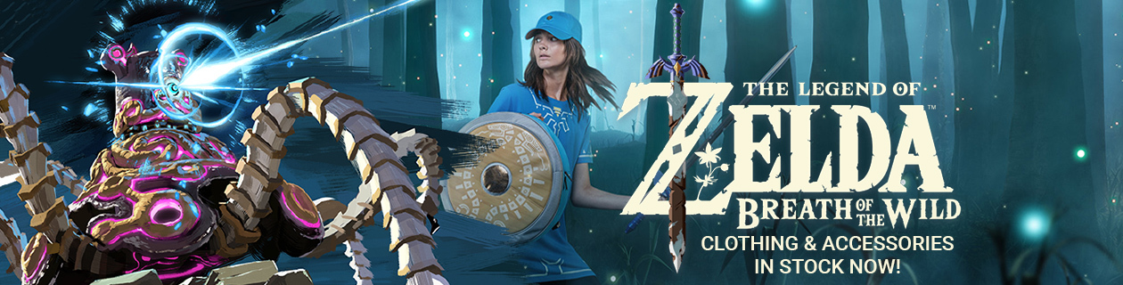 Zelda Clothing & Accessories in stock!