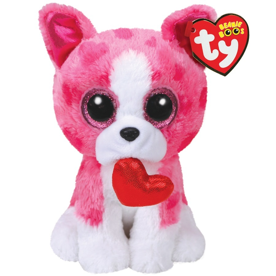 3f3b9fd1e9a Ty Beanie Boo  Romeo Dog - Small Plush image