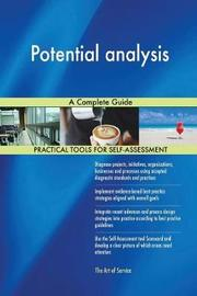 Potential Analysis a Complete Guide by Gerardus Blokdyk image