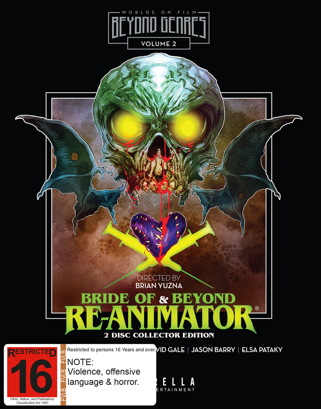 Bride of Re-Animator / Beyond Re-Animator on Blu-ray