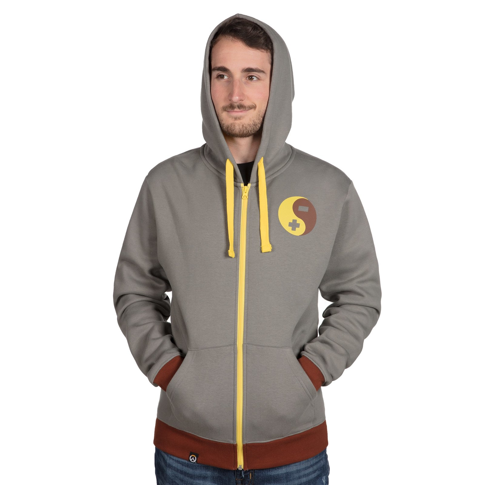 Overwatch Ultimate Zenyatta Zip-Up Hoodie (XL) image