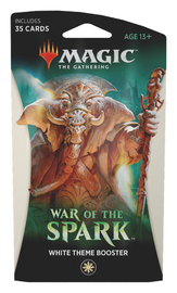 Magic The Gathering: War of the Spark Theme Booster- White image