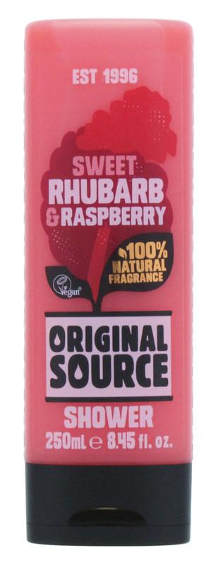 Original Source: Shower Gel Rhubarb & Raspberry (250 ml)