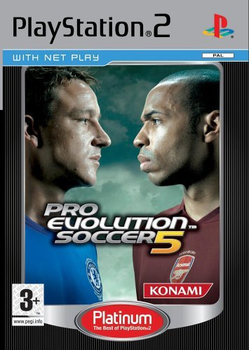 Pro Evolution Soccer 5 (Platinum) for PlayStation 2