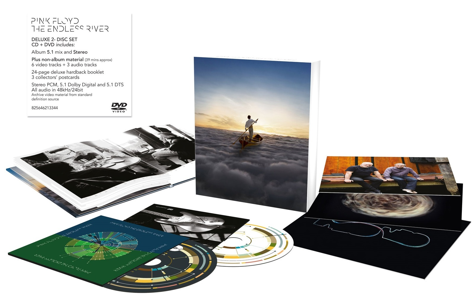 The Endless River (CD/DVD) by Pink Floyd image