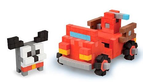 The Orb Factory: Pixel Pops - Hero Dog Jumbo Playset image