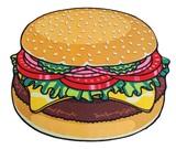 Gigantic Burger - Beach Blanket