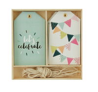 Kaisercraft Lucky Dip Gift Tag Box - Let's Celebrate! (12pcs)