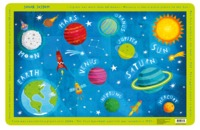 Crocodile Creek: Placemat - Solar System