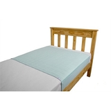 Brolly Sheets King Single Size Sheet Bed Pad - Pale Mint