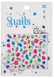 Snail: Nail Stickers Set (Candy Blast)