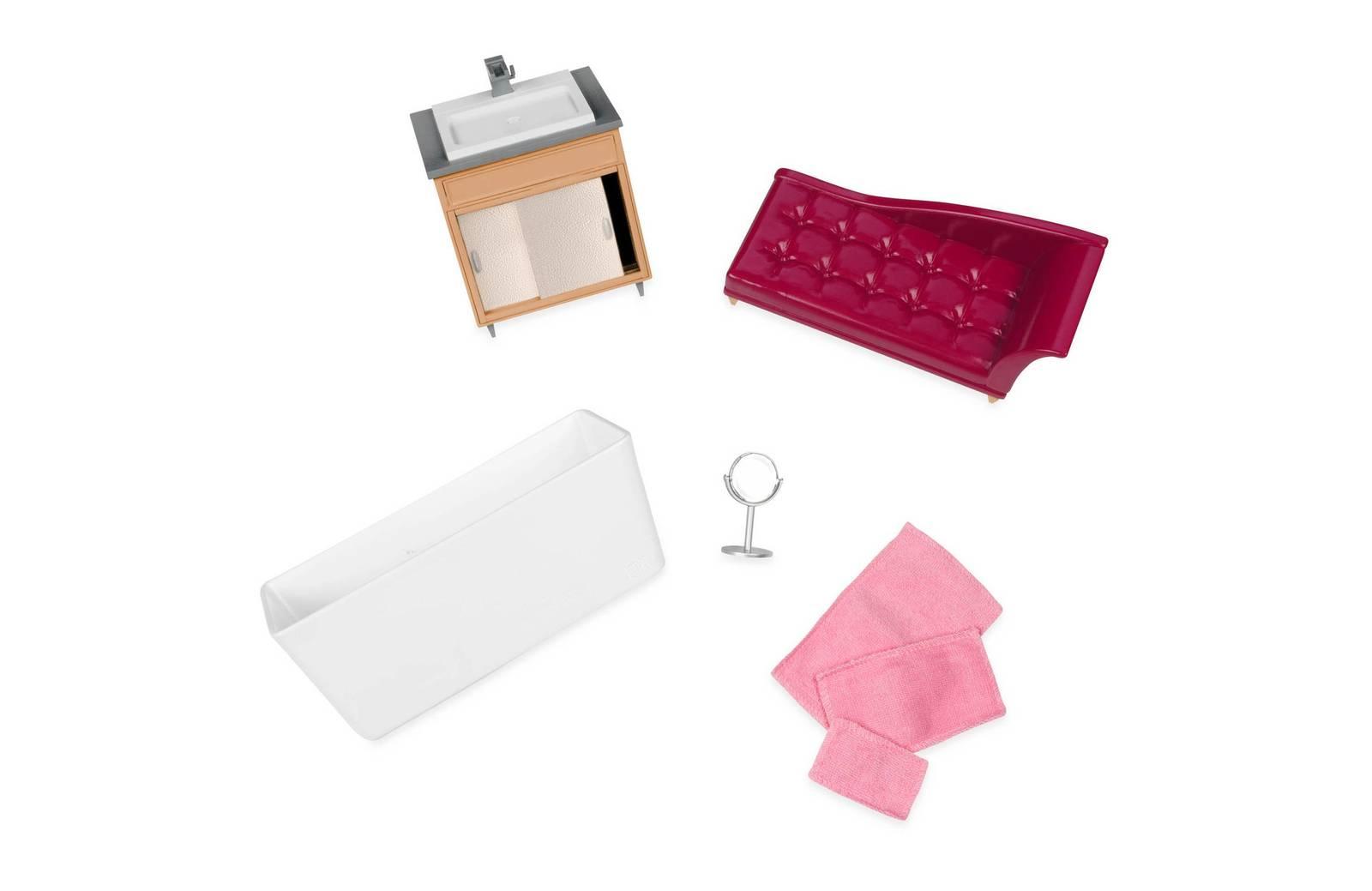 Lori: Doll House Luxury Bathroom Set image