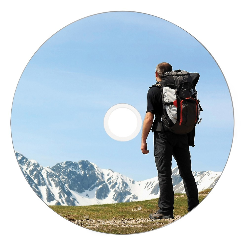Verbatim DVD+R 4.7GB White Wide Thermal 8x (50 Pack) image