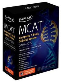 MCAT Complete 7-Book Subject Review 2019-2020 by Kaplan Test Prep