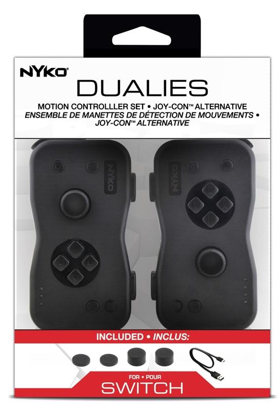 Nyko Switch Joy-Con Dualies for Switch
