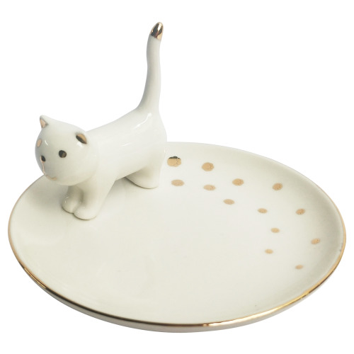 Cat Trinket Dish (12cm)