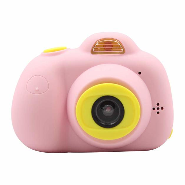 Cute Kids Digital Camera HD 720P - Pink