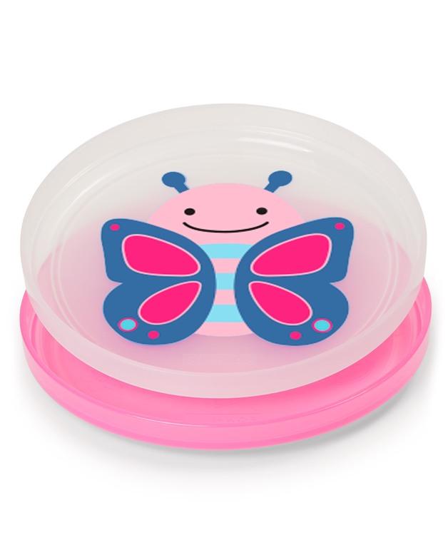 Skip Hop: Zoo - Smart Serve Plates Set (Butterfly)