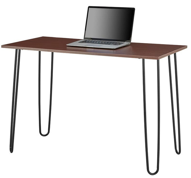 Ovela: Victoria Desk (Walnut/Black)